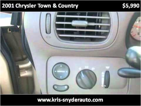 2001 Chrysler Town & Country Used Cars Allentown PA