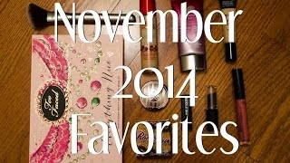 November 2014 Favorites Thumbnail