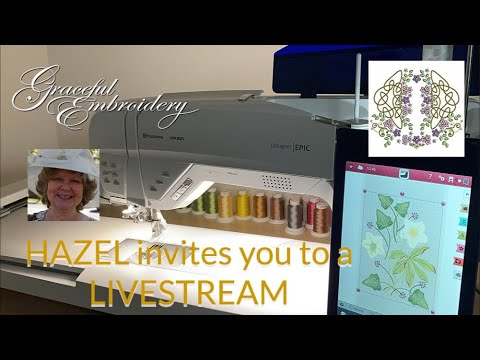 Invitation to another LiveStream with Hazel