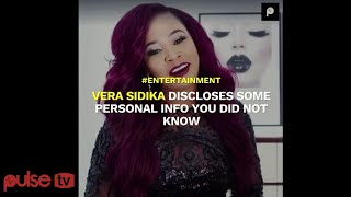 VERA SIDIKA Talks about her Sex Life