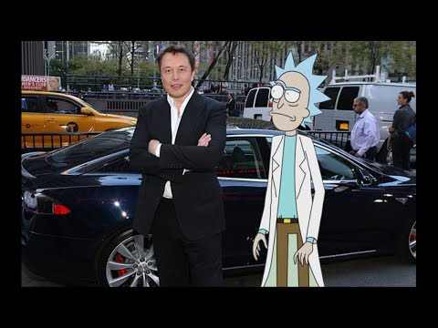 Elon Musk Bantered With Rick Sanchez On Twitter About Some Real Nerd Shit