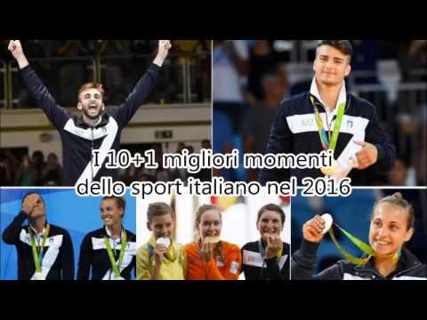 I nostri 10+1 migliori momenti dello Sport italiano nel 2016!