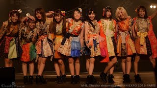 "Cheeky Parade (""チキパ"" チーキーパレード) JAPAN EXPO 2016 in PARIS ..."