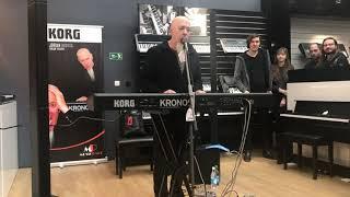 Jordan Rudess Prague 15.2.2020 Korg opening section