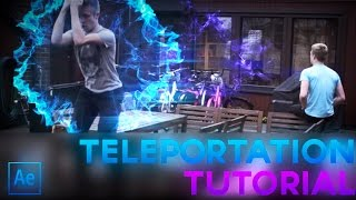 Advanced Teleportation | After Effects CC Tutorial