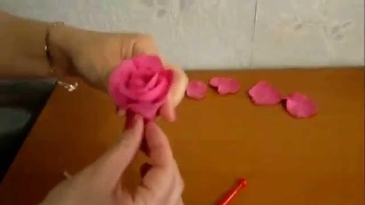 Из полимерной глины своими руками розы