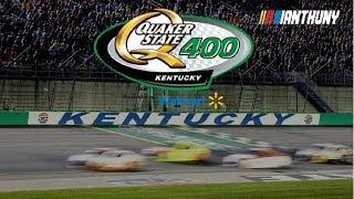 LIVE NASCAR KENTUCKY SPEEDWAY QUAKER STATE 400 REACTIONS - FULL RACE