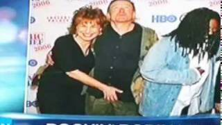 TV Host Joy Behar Molests a guest she should B arrested funny ? NO - rosie cher MERYL PIGS