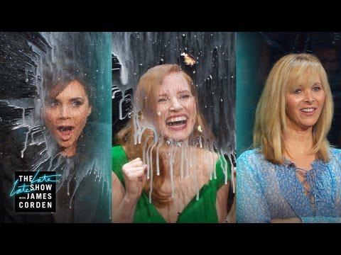 Flinch w Lisa Kudrow, Jessica Chastain & Victoria Beckham