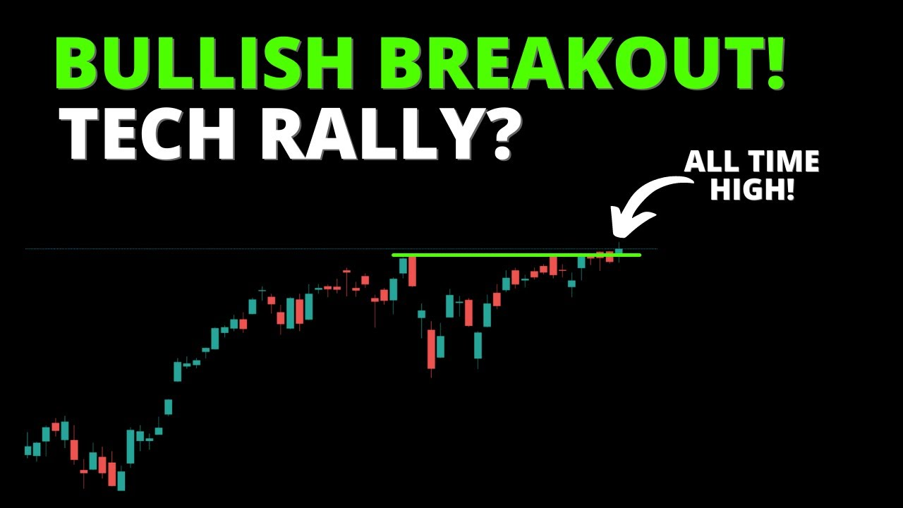 BULLISH BREAKOUT! TECH RALLY? (S&P500, SPY, QQQ, DIA, IWM, ARKK, BTC)