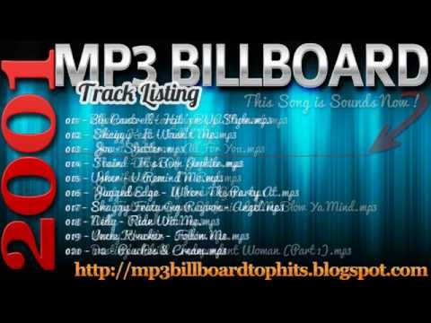 mp3 BILLBOARD 2001 TOP Hits mp3 BILLBOARD 2001
