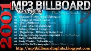 mp3 BILLBOARD 2001 TOP Hits mp3 BILLBOARD 2001
