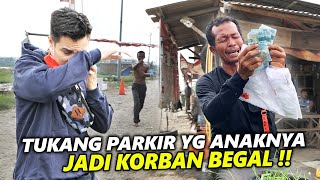 Download Mp3 Tukang Parkir Yang Tidak Bisa Mengobati Anaknya Karena Di Begal. Beruntung Ketem