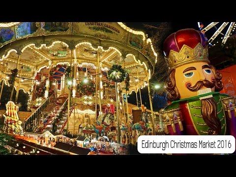 Edinburgh Christmas Market November 2016