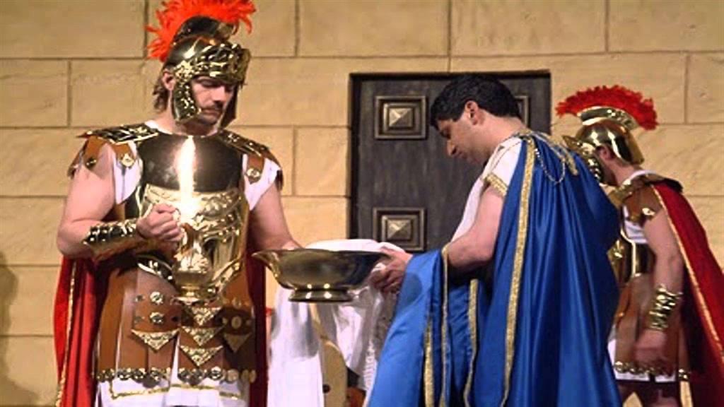 BIBLIA EN ACCION: Lavarse las Manos como Pilatos. Mateo 27.