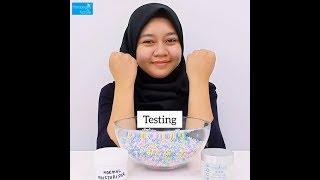 Beauty Tips : Testing of Aqua Whitening Cream