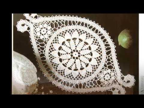 Брюггское кружево. Салфетки и скатерти, связанные крючком. Подборка № 36 [1000 и 1 узор]