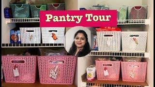 Pantry Organisation|Pantry Tour|How to organise a pantry|மளிகை பொருட்கள் இப்படி ஸ்டோர் பண்ணுங்க