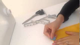 Repeat youtube video How to stitch kurti with lining