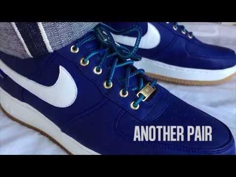 Nike Air Force 1 Low iD Pendleton (Deep Royal Blue)