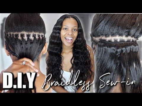 braidless-sew-in-tutorial-*step-by-step*-ft.-klaiyi-hair-♥︎