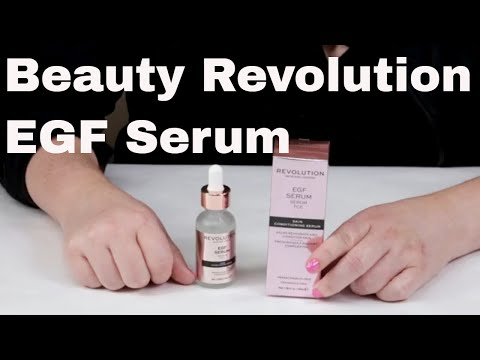 Revolution Beauty / SkinCare London -- EGF Skin Conditioning Serum Review