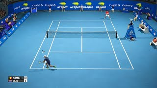 US Open 2018 - David Goffin vs Marin Cilic - AO International Tennis PC Gameplay