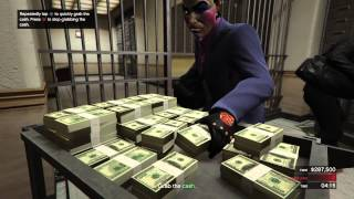 Grand Theft Auto V Dark Knight Inspired Heist
