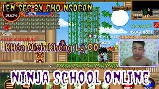 ►Ninja School Online | Séc Đồ 8x  Đẹp VCH...Teamobi Khóa Ních Không Lý Do & Cách Mở Khóa
