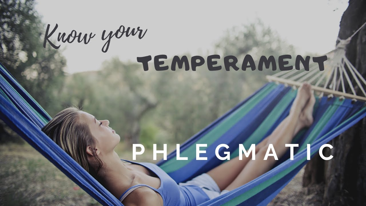 Who is a phlegmatic person