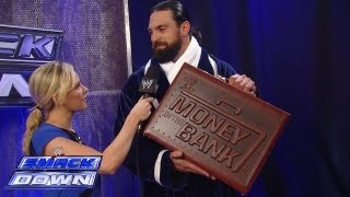 Damien Sandow reveals the new and improved Money in the Bank Briefcase: SmackDown, Aug. 9, 2013