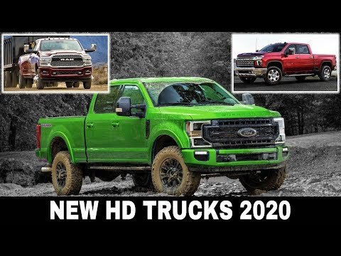 3 New Pickup Trucks for Heavy Duty Towing and Off-Road Driving