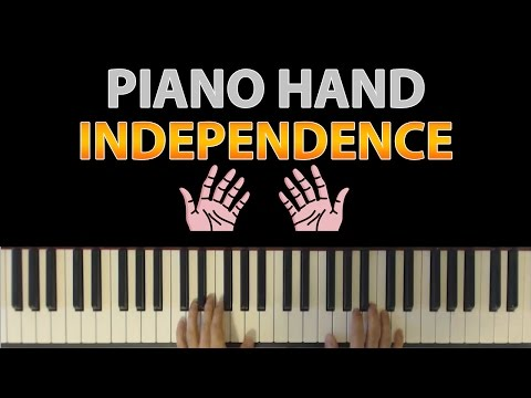 Simple Exercise To Improve Piano Hand Independence (Between Left and