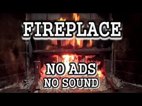HD Fireplace Burn - No Ads - 3 Hours