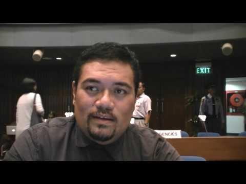 Tuvalu - Dr Stephen Homasi