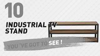 Industrial TV Stand // New & Popular 2017