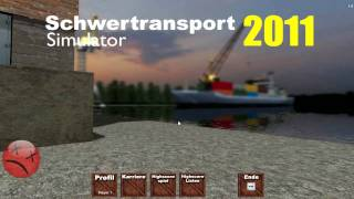 Schwertransport Simulator 2011 Gameplay HD (german)