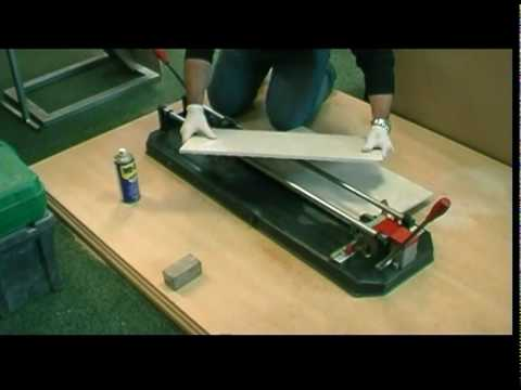 How To Cut Porcelain Tiles Youtube