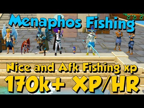 170k+ XP/HR - Menaphos Fishing! [Runescape 3] Nice AFK & Fast Fishing XP!