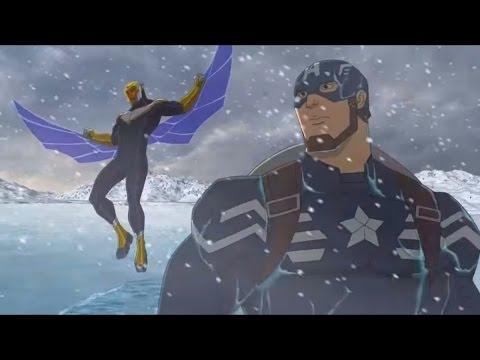 Мультики Лего Мстители. Лего Марвел Супергерои мультфильм на русском языке 1-5 серии