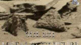 "Mars Anomaly Research SOL - 631  "" MARTIAN WIRE SCULPTURE ON MARS """
