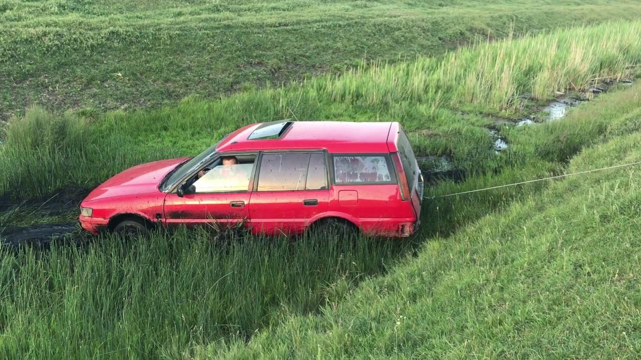 Toyota Corolla Awd Wagon Off Road Test