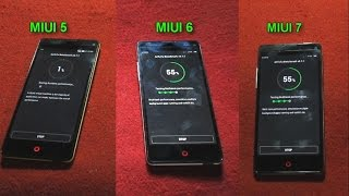 Review Miui 5 versus Miui 6 vs Miui 7 - Nubia Z5s mini nx403
