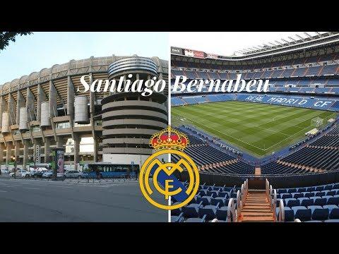 Santiago Bernabeu : Real Madrid Stadium Tour (Follow Me To Spain)