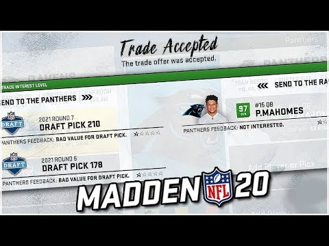 Trade For Anyone In Madden 20 Franchise