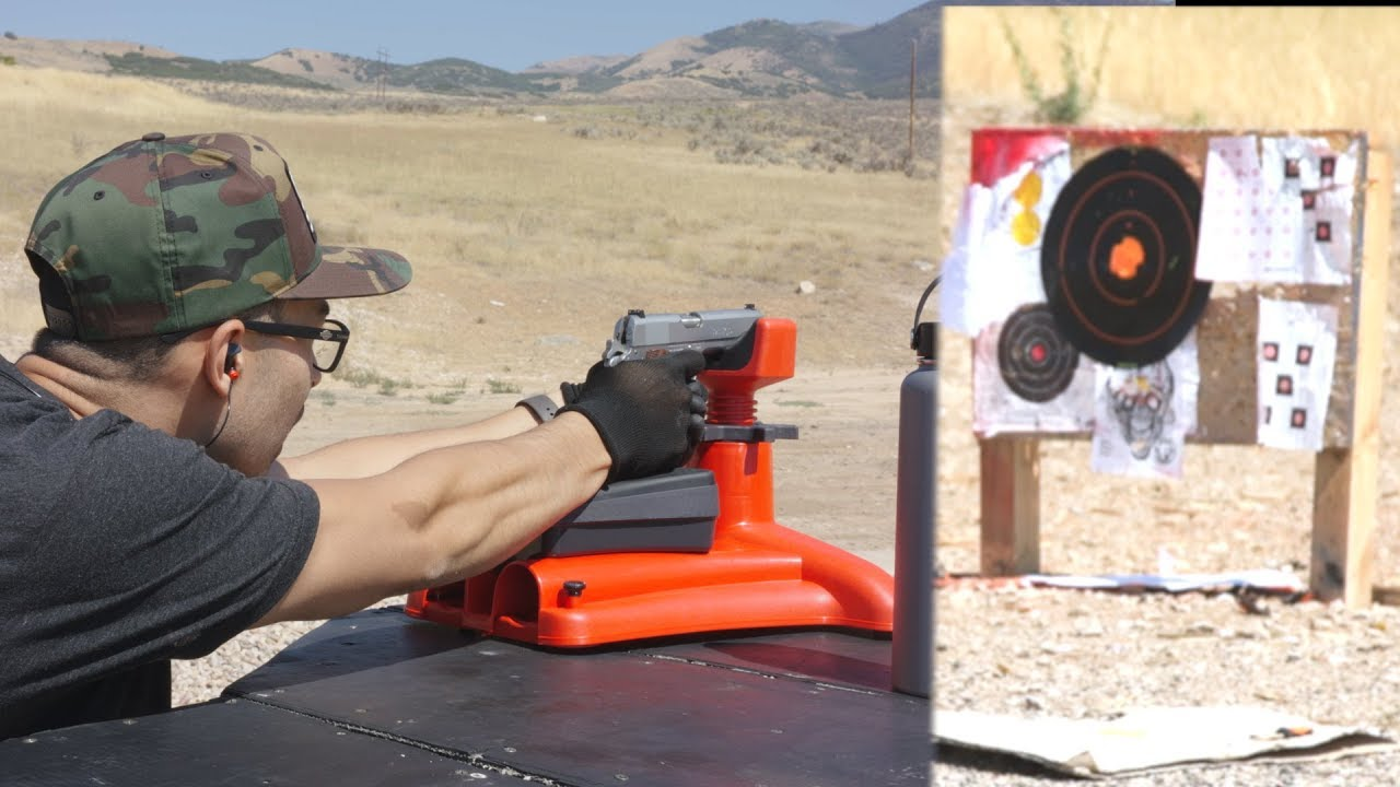 100 Yard Groups With A 1911? - 45 ACP Accuracy Test