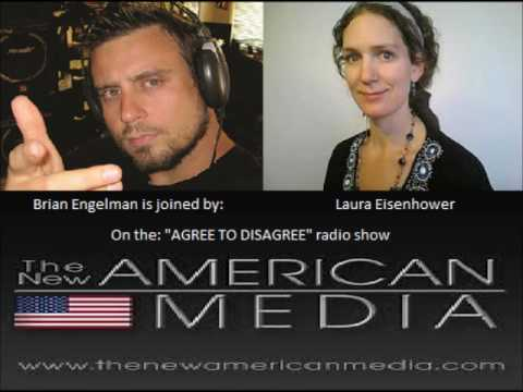 """We Are Alchemists!"" Laura Eisenhower & Brian Engelman Talk On ""Agree To Disagree."""