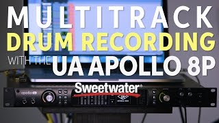 Download Multitrack Drum Recording with the Universal Audio Apollo 8p MP3 song and Music Video