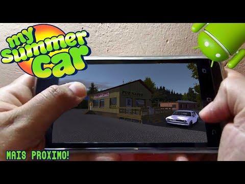 MY SUMMER CAR para ANDROID ?? - O GAME MAIS PARECIDO do MOMENTO!!! [Download]