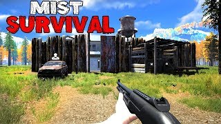 THE GREATEST BASE BUILDING SURVIVAL GAME!? (Mist Survival)